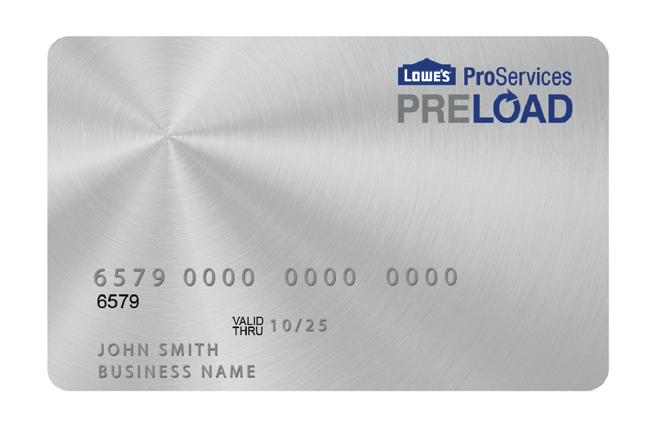 introducing lowes preload - Lowes Business Credit Card Login